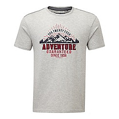 Tog 24 - Light grey marl kilter t-shirt adventure print