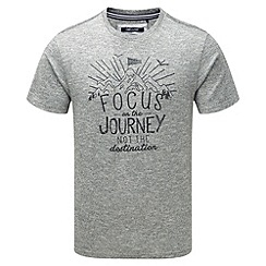 Tog 24 - Dark grey marl kilter t-shirt focus print