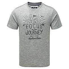 Tog 24 - Dark grey marl kilter t-shirt focus print