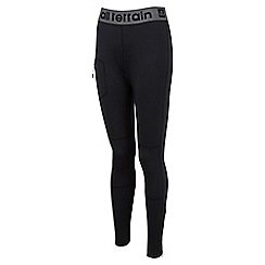 Tog 24 - Black kinetic tcz stretch training leggings