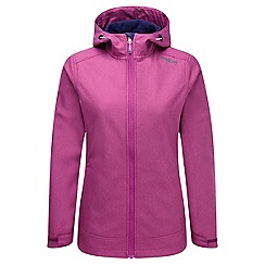 Tog 24 - Berry marl lara tcz softshell jacket