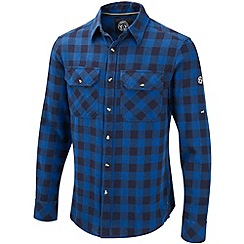 Tog 24 - New blue check lumber cotton shirt