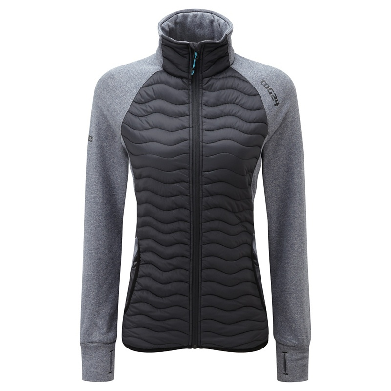 Tog 24 Black Luna Tcz Thermal Jacket, Womens, Size: 8