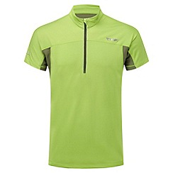 Tog 24 - Lime lusis tcz bamboo zip neck