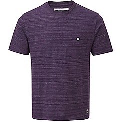 Tog 24 - Dark plum marl lynch tcz cotton deluxe t-shirt