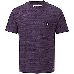 Tog 24 - Dark plum marl lynch tcz cotton deluxe t-shirt