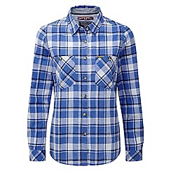 Tog 24 - Marina blue check madeline shirt