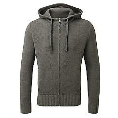 Tog 24 - Charcoal marl marlin cotton zip hoody