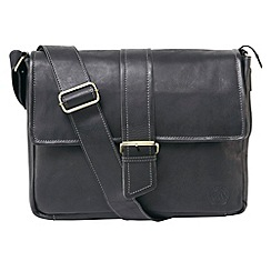 Tog 24 - Black marlow leather shoulder bag