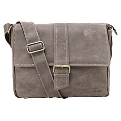 Tog 24 - Brown marlow leather shoulder bag