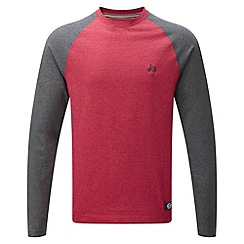 Tog 24 - Chilli/dark grey melville long sleeve t-shirt