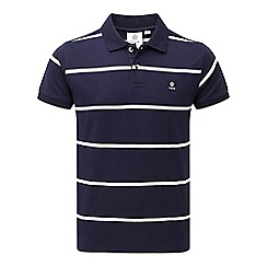 Tog 24 - Navy stripe merrion polo shirt
