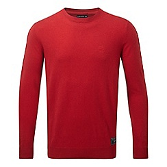 Tog 24 - Chilli red milford cashmere mix jumper