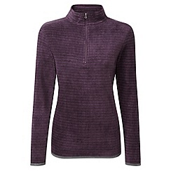 Tog 24 - Plum stripe modena tcz100 fleece zip neck