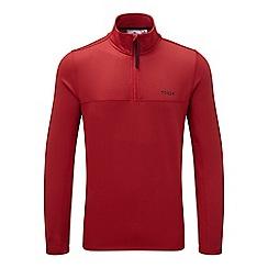 Tog 24 - Chilli red monty TCZ stretch zip neck fleece