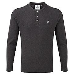 Tog 24 - Dark grey marl ned long sleeve t-shirt