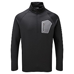 Tog 24 - Black neo tcz shell zip neck