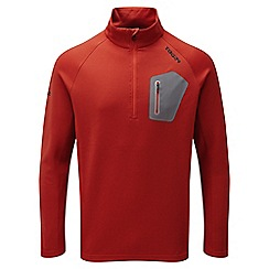 Tog 24 - Fire red neo tcz shell zip neck