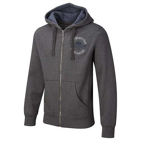 Tog 24 - Dark Grey Marl Newton Zip Hoody