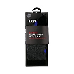 Tog 24 - Anth/black/royal north point merino/diamond dry socks