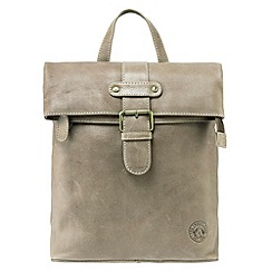 Tog 24 - Taupe oakley leather shoulder bag