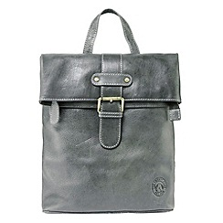 Tog 24 - Dark grey oakley leather shoulder bag