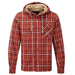 Tog 24 - Rust check ottowa tcz fleece lined shirt