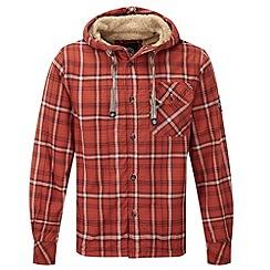Tog 24 - Rust check ottowa tcz fleece lined shirt