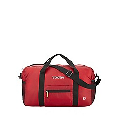 Tog 24 - Bright red packaway 45l travel bag