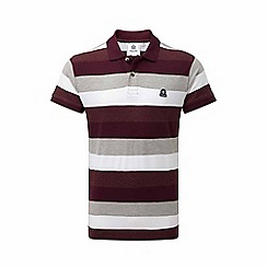 Tog 24 - Deep port stripe plain polo shirt