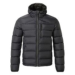 Tog 24 - Black peak down hooded jacket