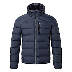 Tog 24 - Navy peak down hooded jacket