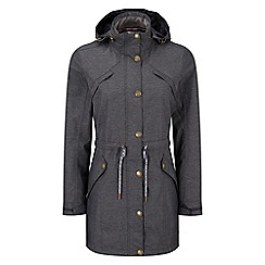 Tog 24 - Dark grey marl peony milatex jacket