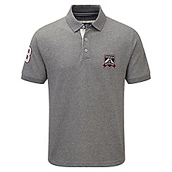 Tog 24 - Light grey marl peterson polo shirt