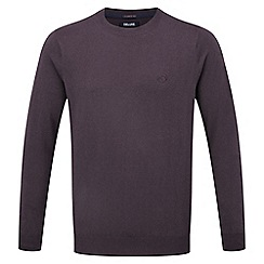 Tog 24 - Plum plateau mens cashmere mix jumper
