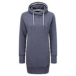Tog 24 - Navy marl polperro hoody dress hoodie