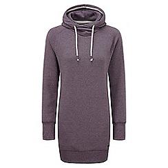 Tog 24 - Plum marl polperro hoody dress hoodie