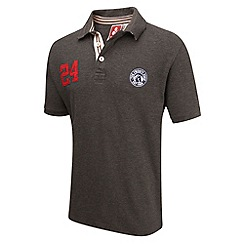 Tog 24 - Dark grey marl port deluxe polo shirt