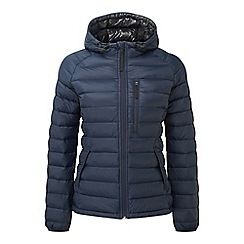 Tog 24 - Navy pro down hooded jacket
