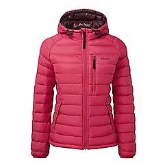 Tog 24 - Cerise pro down hooded jacket