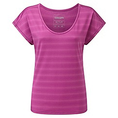 Tog 24 - Berry stripe propel tcz stretch t-shirt
