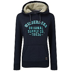 Tog 24 - Midnight marl rachel hoody wilderness print