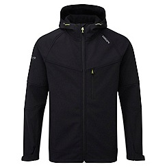 Tog 24 - Black reactor tcz softshell hooded jacket