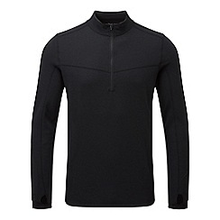 Tog 24 - Black/raven recreate tcz merino zip neck