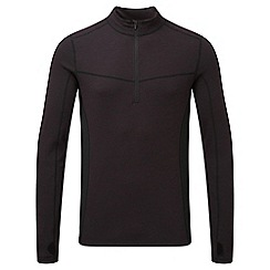 Tog 24 - Port/black recreate tcz merino zip neck