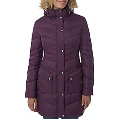 Tog 24 - Dark plum rialto down parka jacket