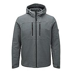 Tog 24 - Grey marl rig TCZ thermal hooded softshell jacket