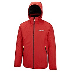 Tog 24 - Bright red ripcord milatex ski jacket