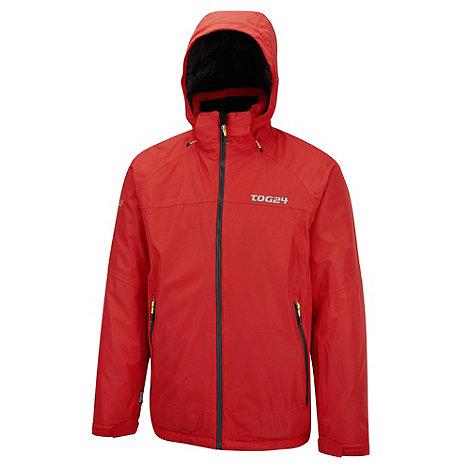 Tog 24 - Bright red ripcord milatex ski jacket