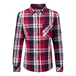Tog 24 - Cerise check rowena flannel shirt